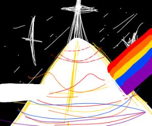 Radiant pyramid