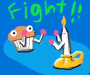 Muffin VS Candle, FIGHT!
