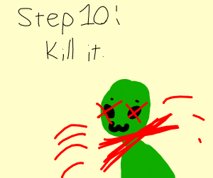 step 9: raise your alien child with love