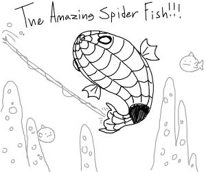 The Amazing Spider Fish!!!