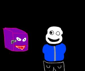 purple box robs sans