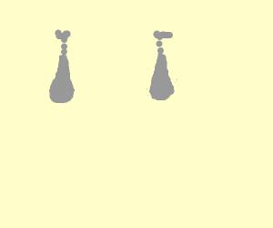 Cave Earrings