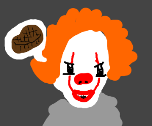 pennywise asking for steak???