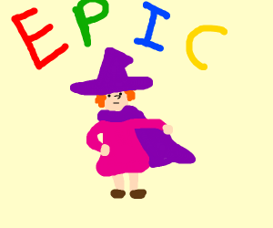anime witch says epic