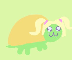 Anime Turtle Girl