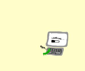 Cattipiler hates loading screen