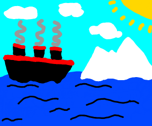 The unsinkable ship.