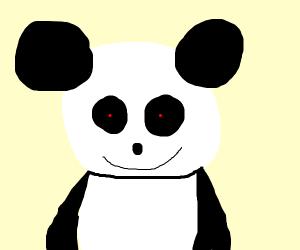 Creepy panda states into your soul