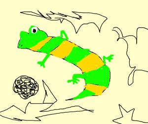 mind melting lizard