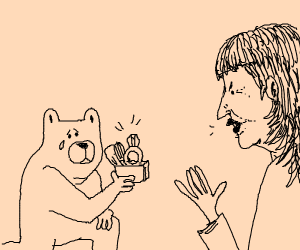 bear is rejected after proposing
