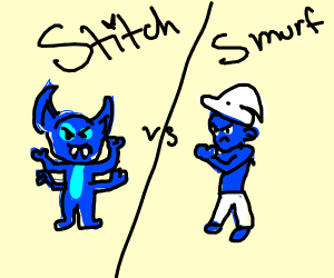 Samus VS Stitch