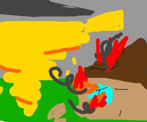 tornado-butter catastrophe