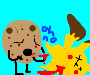 Cookie murders Pikachu, and regrets it.