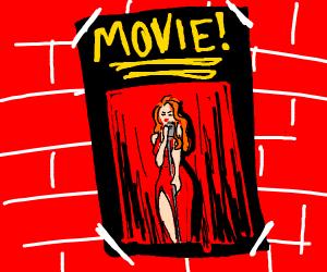 Movie poster singer