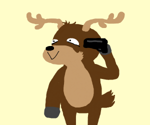 suicidal reindeer