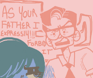 Angry father
