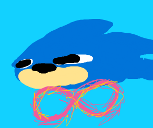 Sonic breaking the aound barrier