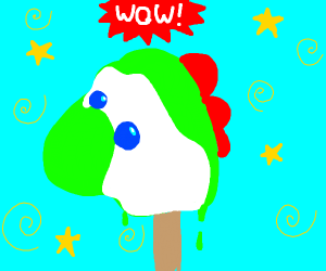 yoshi ice cream