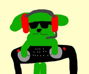 green dog Dj