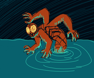 Squid-Man Sea Monster