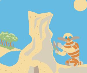 Eggman on vacation