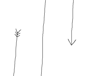 Very long arrow at hihg speds