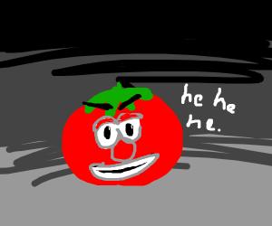 evil tomato hehe.