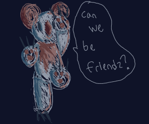 Koala just want to be friends