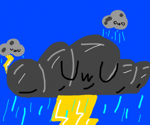UwU thunder cloud