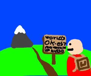 An OK, but not great, mountain