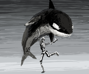 Dead lifting a whale while dancing