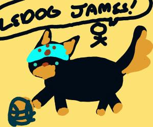 Ledog James