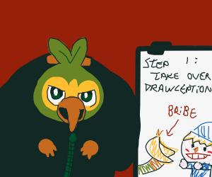Step 2 Get People To Draw A Grookey Gru Meme Drawception Se trata de grookey, scorbunny y sobble, un mono de hierba, un y no solo eso los fans también han encontrado la manera de convertirlos en memes por eso te dejamos los mejores aquí abajo get people to draw a grookey gru meme