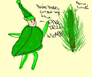 Pine tree wizard