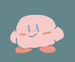 Kirby takes steroids
