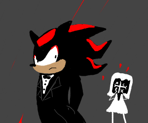 A true goth wedding