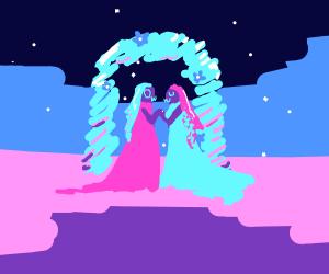 UwU and OwO get married