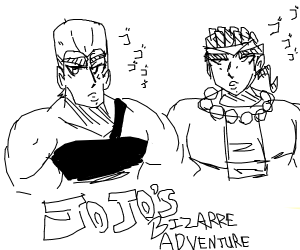 Polnareff and Avdol