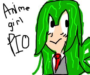 Anime girl PIO