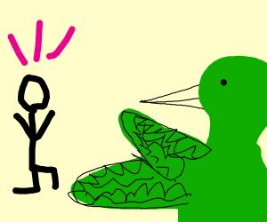 hummingbird casts spell