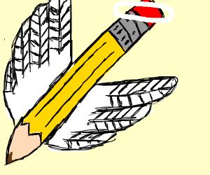 Angelic pencil