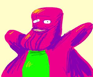 Barney the THANOS dinosaur