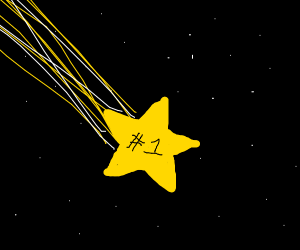 shooting star #1