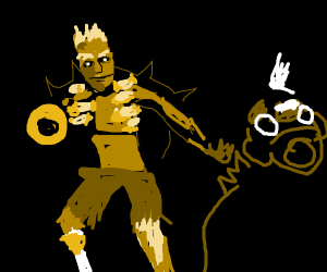 Junkrat + Roadhog from Overwatch