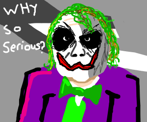Joker says one of his memorable quotes