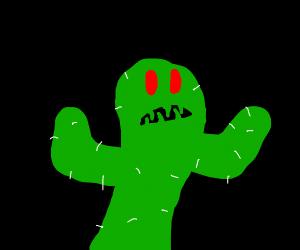 Creepy Cactus Creature