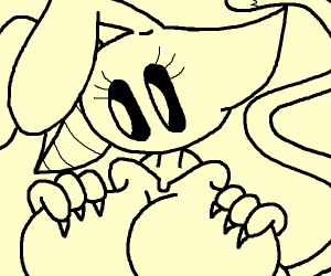 Cat/Bunny Furry