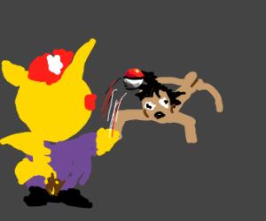 pokemon but the pokemon catch the humans
