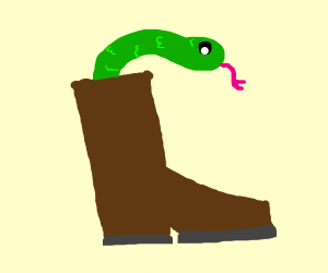 theres a snake in my boot