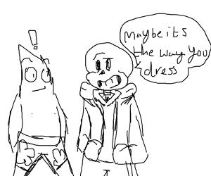 Patrick the skinhead